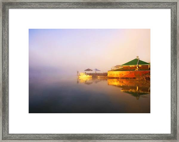 Light Framed Print by Svetlana Peric
