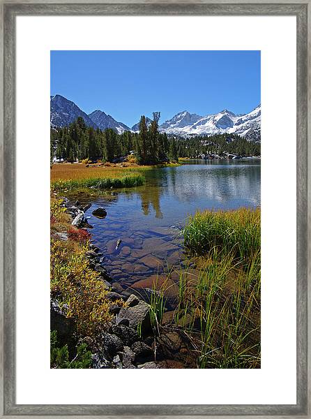 Little Lakes Valley 3 Framed Print