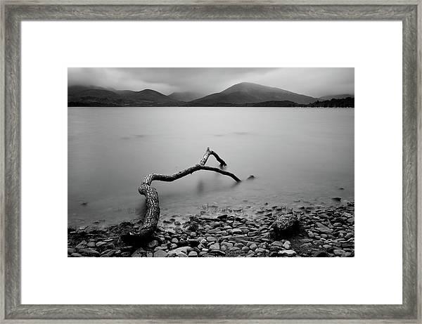 Loch Lomond Lake, Scotland Framed Print