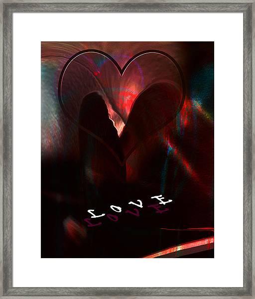Love Framed Print