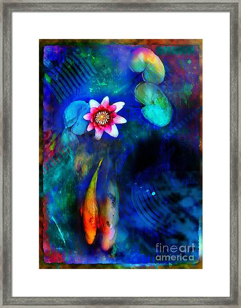 Lovers Framed Print by Gina Signore
