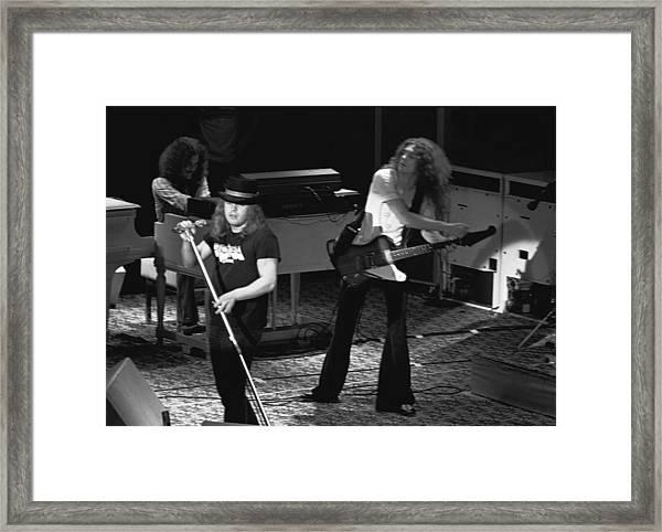 Lynyrd Skynyrd At Winterland Framed Print