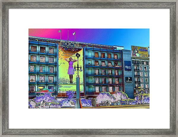 Macy's Framed Print