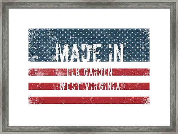 Made In Elk Garden, West Virginia Framed Print