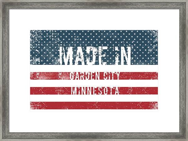 Made In Garden City, Minnesota Framed Print