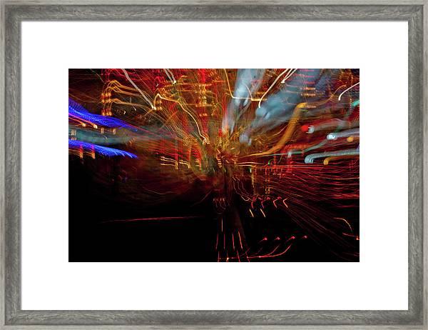 Magic Color Framed Print