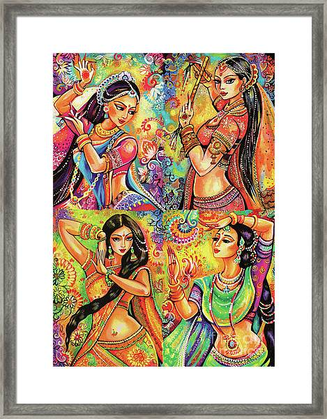 Magic Of Dance Framed Print
