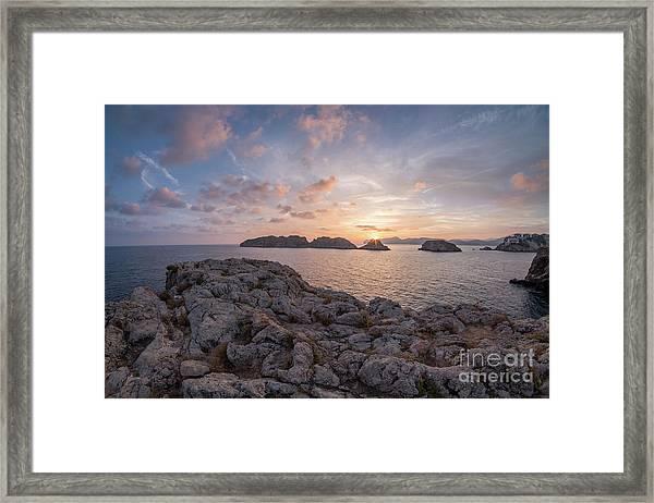 Malgrats Islands Framed Print