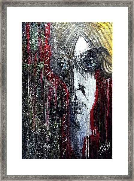 Mama Framed Print