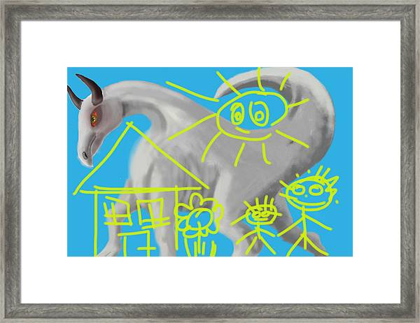 May I Keep It...qm Framed Print by Musat Iliescu