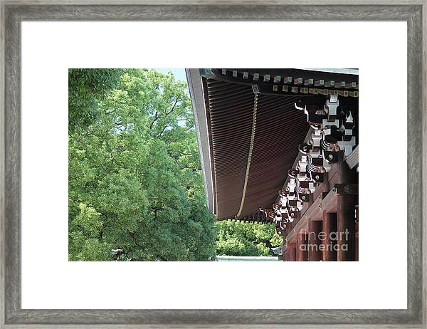 Meiji Shrine Framed Print