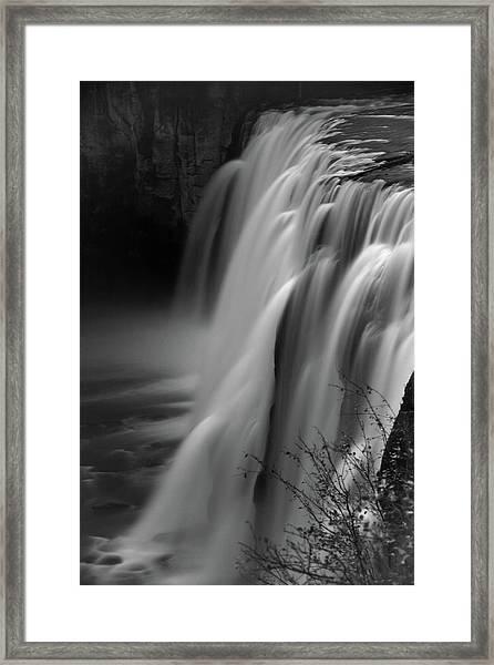 Mesa Falls Framed Print