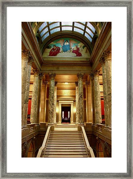 Minnesota Supreme Court Framed Print