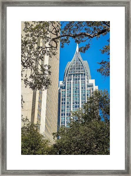 Mobile Shines Framed Print