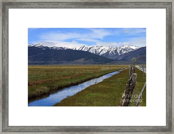 Mono County Nevada Framed Print
