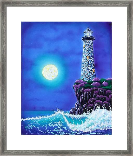 Moonlight Vigil Framed Print