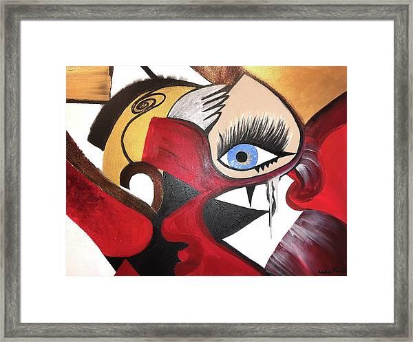Motley Eye 2 Framed Print