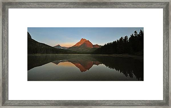 Mount Wilbur, Glacier National Park Framed Print