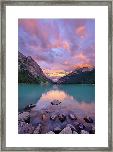 Mountain Rise Framed Print