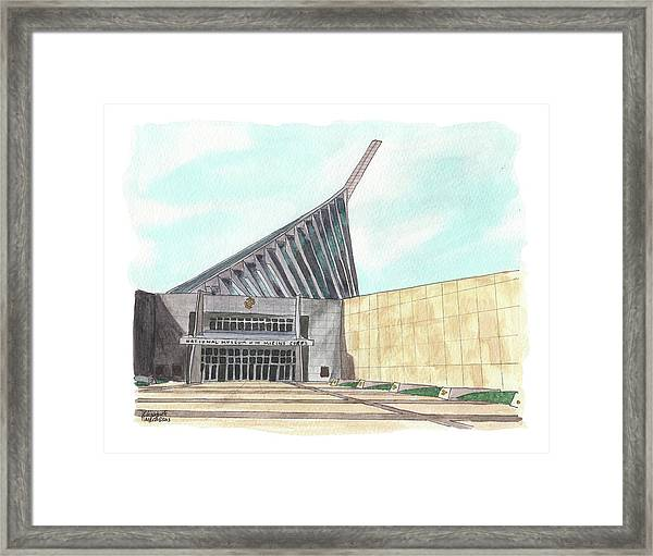 National Museum Of The Marine Corps Framed Print