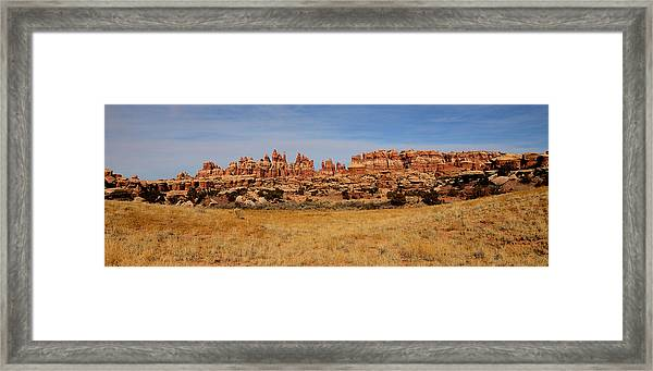 Needles At Canyonlands Framed Print