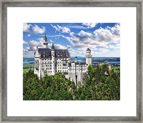 Neuschwanstein Castle Framed Print