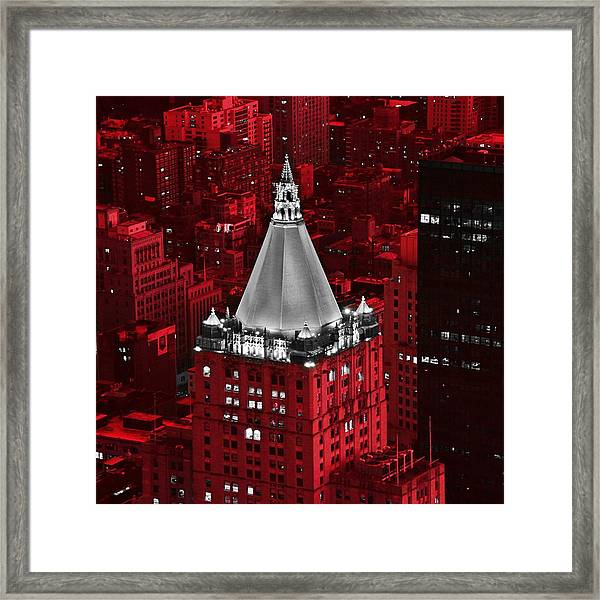 New York Life Building Framed Print