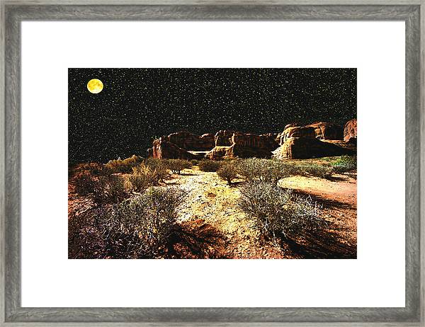 Night In The Arches Framed Print