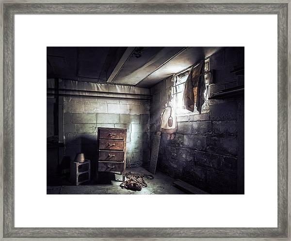 No Escape 2 Framed Print