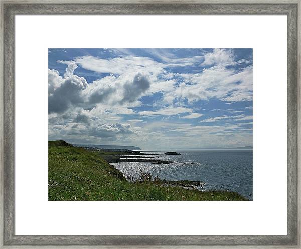 North Coast Cloudscape Framed Print