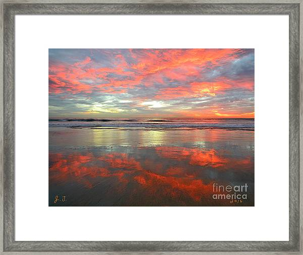 North County Reflections Framed Print