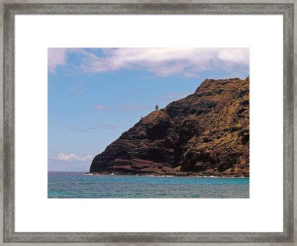 Oahu - Cliffs Of Hope Framed Print