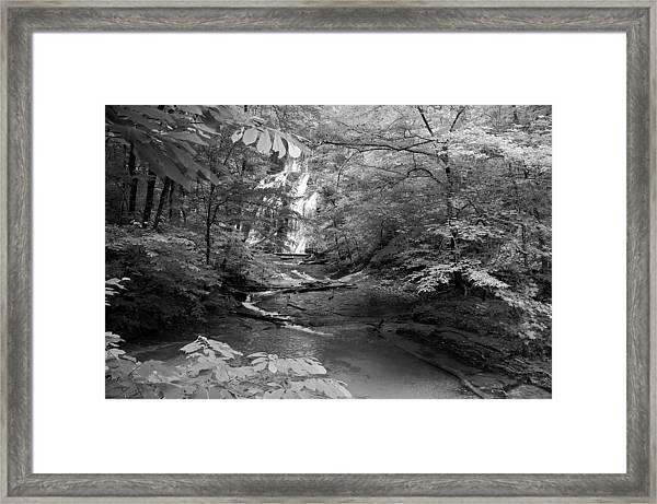 Oconee Station Waterfall  Framed Print