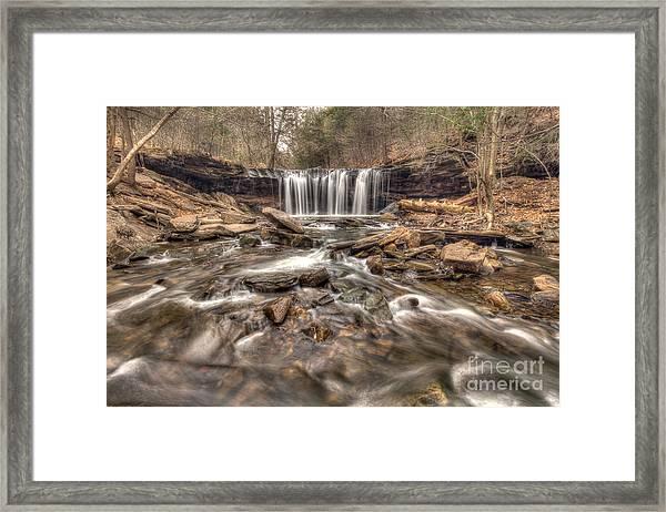 Oneida Falls II Framed Print