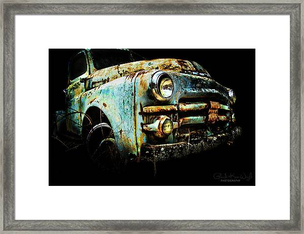 Framed Print featuring the photograph Grandpa's Truck by Glenda Wright