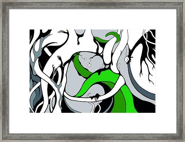 Parabys Framed Print