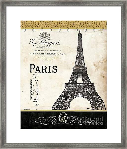 Paris Ooh La La 1 Framed Print