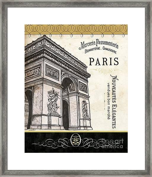 Paris Ooh La La 2 Framed Print