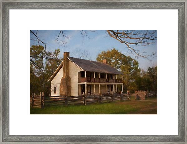 Pea Ridge Framed Print