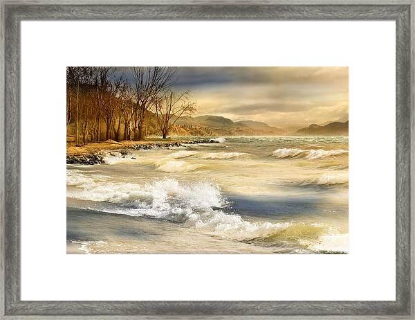 Perfect Storm Framed Print