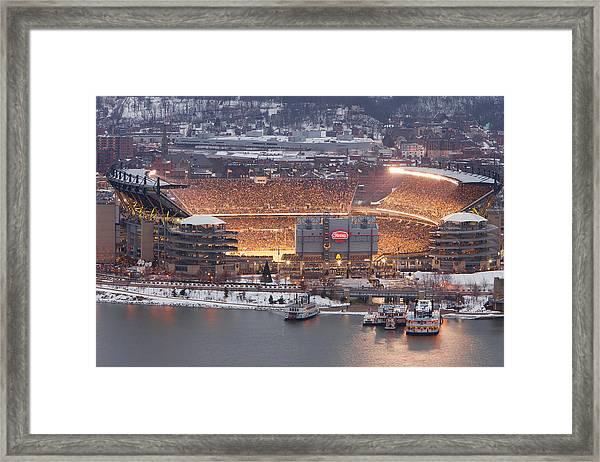The House Of Steel  Framed Print