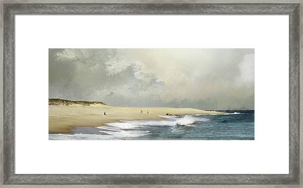 Plum Island Sky Framed Print