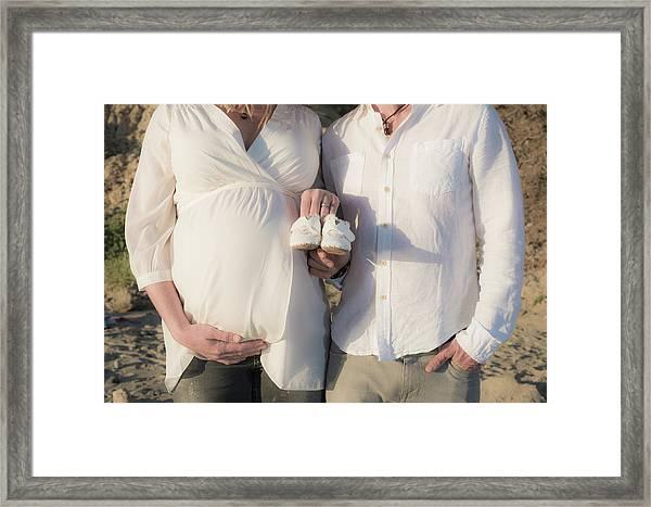 Powell Maternity Framed Print