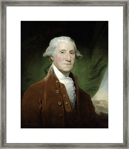 President George Washington  Framed Print