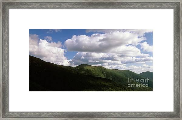 Presidential Range - White Mountains New Hampshire Usa Framed Print