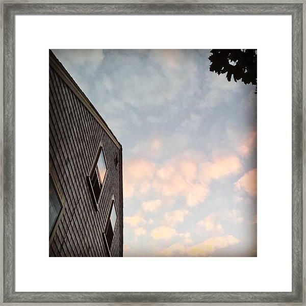 #provincetown #sunset #sunsetporn Framed Print by Ben Berry
