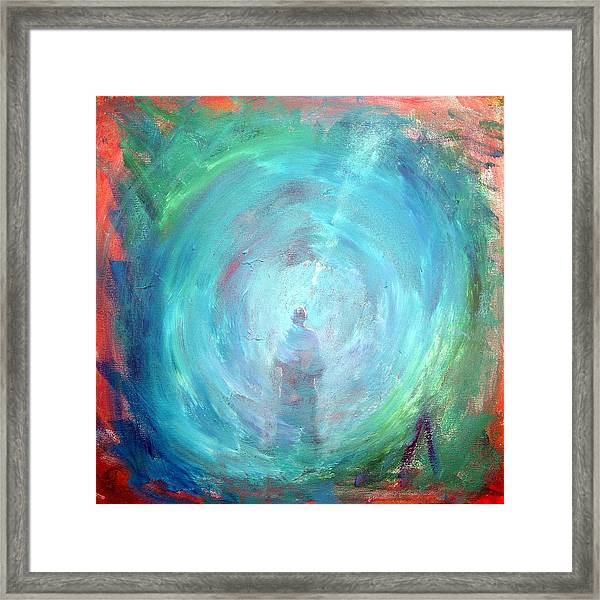 Renewal Framed Print by Bebe Brookman