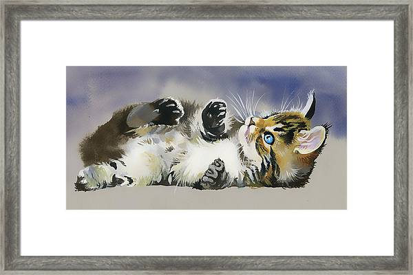 Resting In The Lord Framed Print