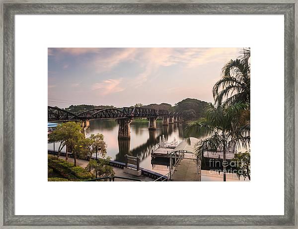 River Kwai Bridge Framed Print