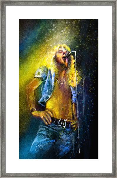 Robert Plant 01 Framed Print